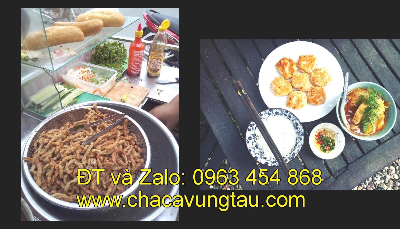 Chacavungtau địa chỉ uy tín cho các gia đình kinh doanh bánh mì chả cá nóng
