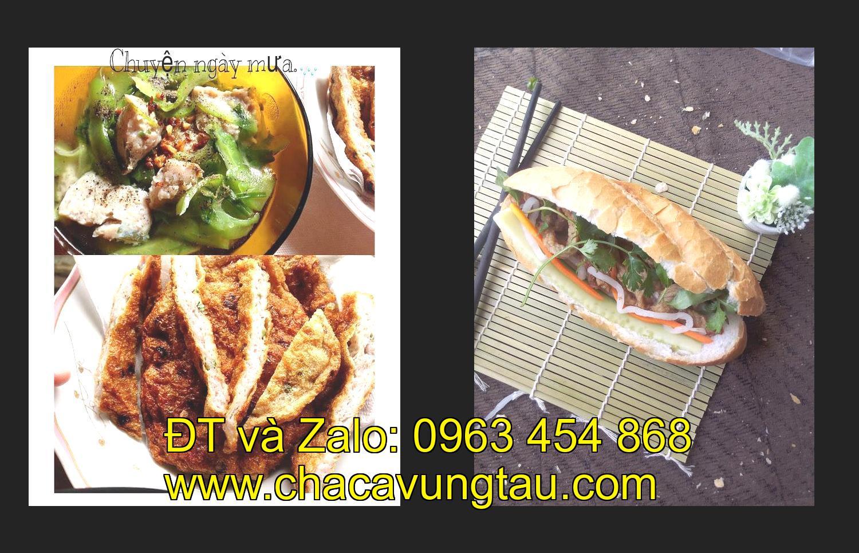 Cơn sốt bánh mì cá chả ở An Giang.
