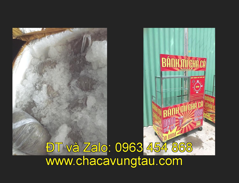 Chọn mua xe bánh mì chả cá inox ở tỉnh Hà Tĩnh