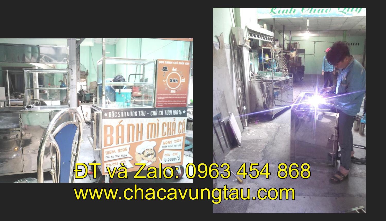 Chọn mua xe bán bánh mì chả cá giá rẻ ở tinh Hà Nội